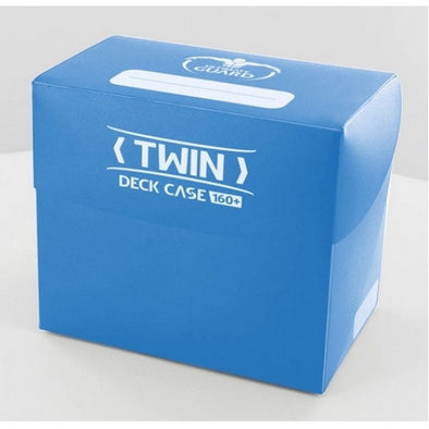 Buy Ultimate Guard - Twin Deck Case 160+ - Blue and more Great Sleeves & Supplies Products at 401 Games