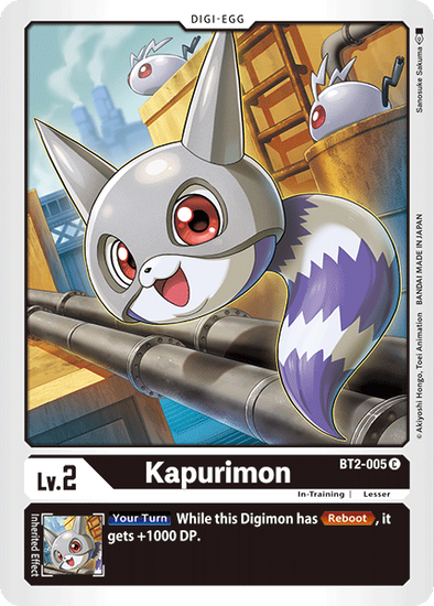 Kapurimon (BT2-005) available at 401 Games Canada