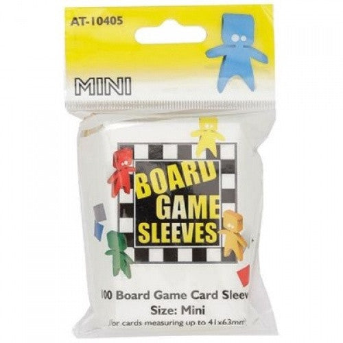 Arcane Tinmen - 100ct Board Game Sleeves - Small (Mini American) - 41mm x 63mm - 401 Games