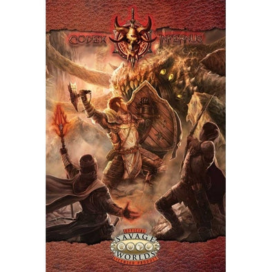 Savage Worlds - Codex Infernus: The Savage Guide to Hell (Softcover) - 401 Games