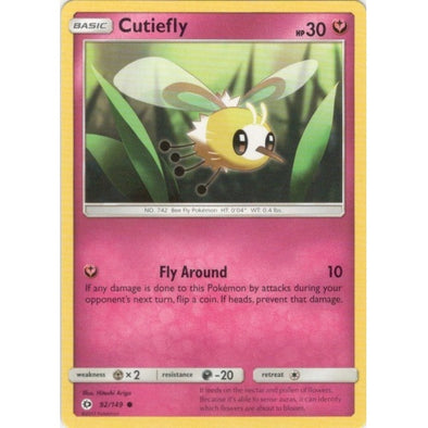 Buy Cutiefly - 92/149 and more Great Pokemon Products at 401 Games
