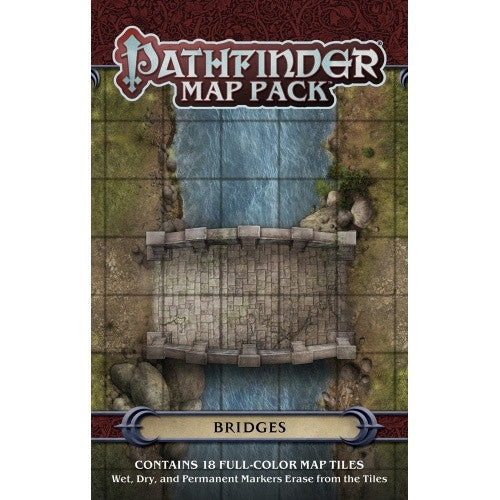 Buy Pathfinder - Map Pack - Bridges and more Great RPG Products at 401 Games