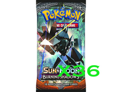 Pokemon - Burning Shadows - 36 Booster Pack Bundle available at 401 Games Canada