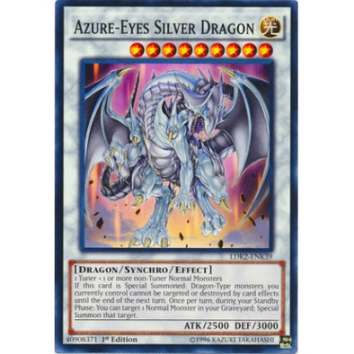 Azure-Eyes Silver Dragon available at 401 Games Canada