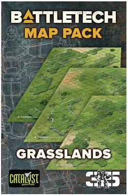 Buy Battletech - Map Pack - Grasslands and more Great Tabletop Wargames Products at 401 Games