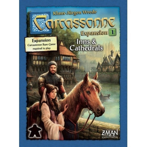 Carcassonne - Inns & Cathedrals (New Edition) - 401 Games