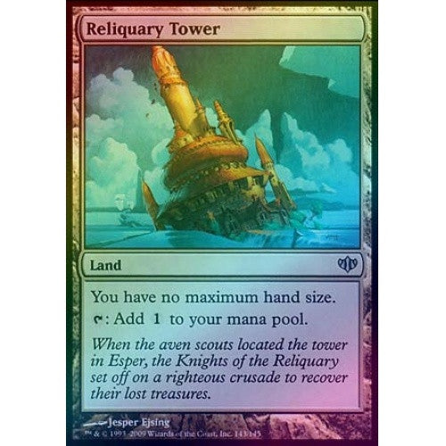 Reliquary Tower (Foil) (CON) - 401 Games