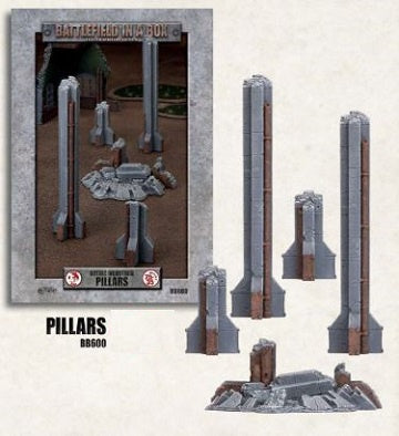 Battlefield in a Box - Gothic Industrial - Pillars available at 401 Games Canada