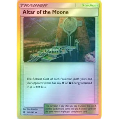 Altar of the Moone - 117/145 - Reverse Foil - 401 Games