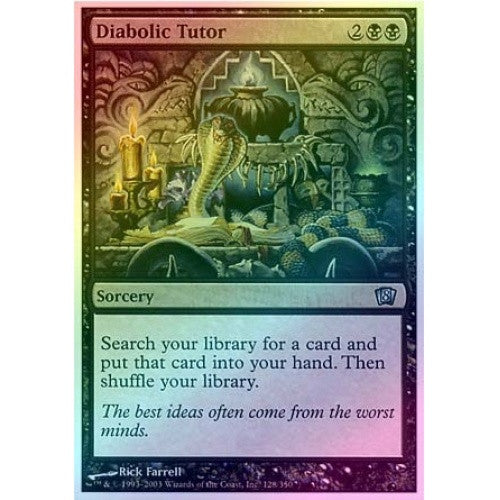 Diabolic Tutor (Foil) - 401 Games
