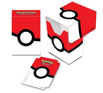Buy Ultra Pro - Deck Box 80ct - Pokeball and more Great Sleeves & Supplies Products at 401 Games