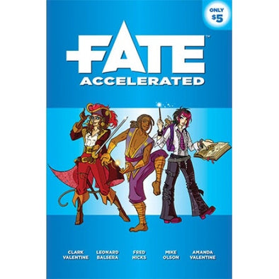 Fate - Accelerated available at 401 Games Canada