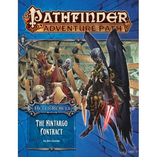 Pathfinder - Adventure Path - #101: The Kintargo Contract (Hell's Rebels 5 of 6) - 401 Games