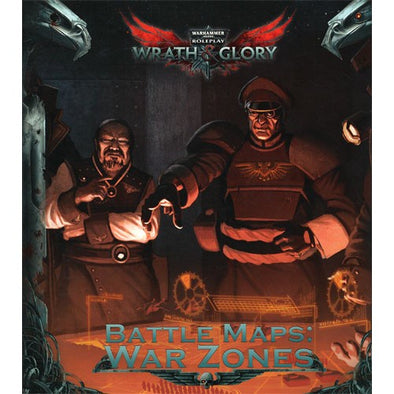 Buy Warhammer 40,000 Role Playing Game - Wrath & Glory - Battle Maps: War Zones and more Great RPG Products at 401 Games