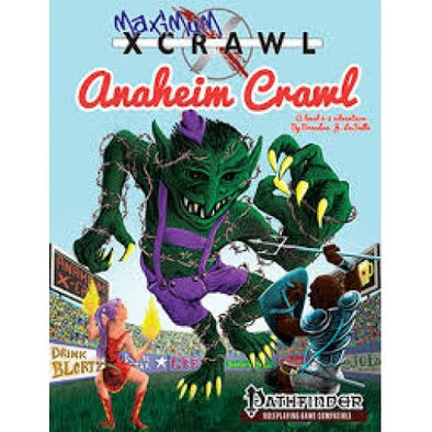 Buy Pathfinder - Module - Maxium xCrawl Anaheimcrawl and more Great RPG Products at 401 Games