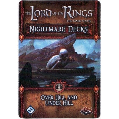 Lord of the Rings Living Card Game - The Hobbit - Over Hill and Under Hill Nightmare Deck - 401 Games