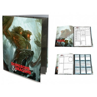 Ultra Pro - Binder - 18 Pocket Sideloading - Dungeons and Dragons Character Portfolio - 401 Games