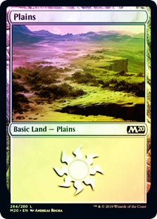 Plains (Foil) (M20) - 401 Games