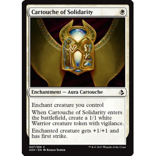 Cartouche of Solidarity (AKH) available at 401 Games Canada