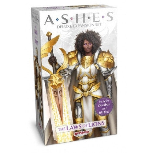 Ashes - Deluxe Expansion - The Laws Of Lions - 401 Games
