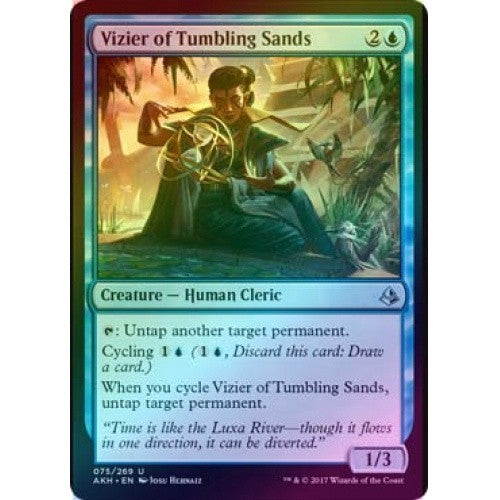 Vizier of Tumbling Sands (Foil) (AKH) available at 401 Games Canada