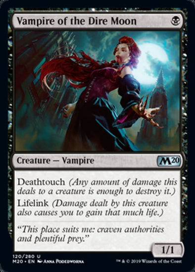 Vampire of the Dire Moon (M20) - 401 Games