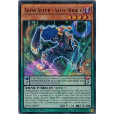 Abyss Actor - Sassy Rookie - (Super Rare) available at 401 Games Canada