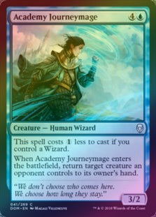 Academy Journeymage (Foil) (DOM) available at 401 Games Canada