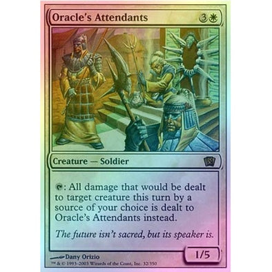 Oracle's Attendants (Foil) available at 401 Games Canada