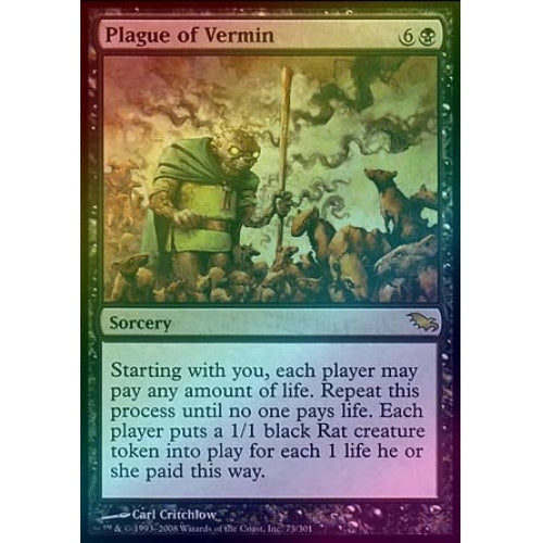 Plague of Vermin (Foil) - 401 Games