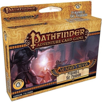 Buy Pathfinder Adventure Card Game - Mummy's Mask - Pyramid of the Sky Pharaoh Adventure Deck 6 and more Great Board Games Products at 401 Games