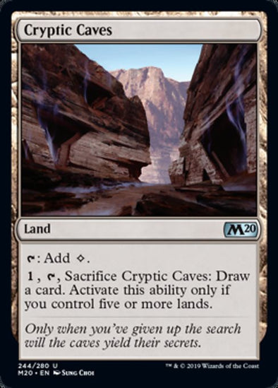 Cryptic Caves (M20) - 401 Games