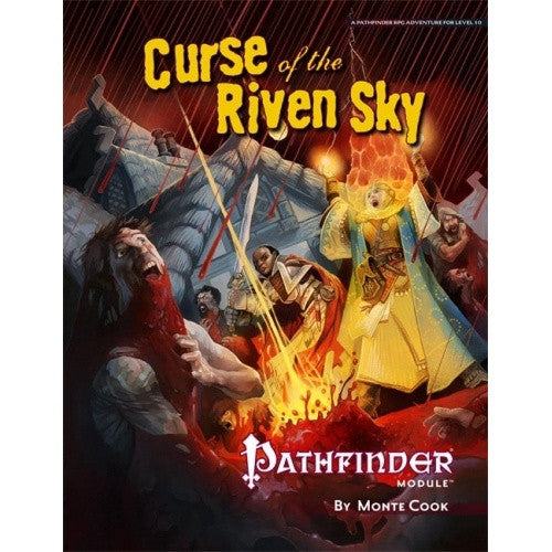 Buy Pathfinder - Module - Curse of the Riven Sky and more Great RPG Products at 401 Games