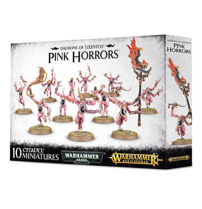 Buy Warhammer - Age of Sigmar - Daemons of Tzeentch - Pink Horrors and more Great Games Workshop Products at 401 Games