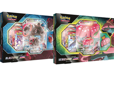 Pokemon - Battle Box - Blastoise & Venusaur Vmax Bundle (Pre-Order March 19th, 2021) available at 401 Games Canada