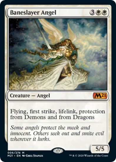 Baneslayer Angel (M21) (Pre-Order: 2020-07-03) - 401 Games