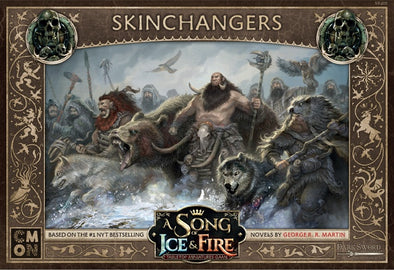 A Song of Ice and Fire - Tabletop Miniatures Game - Free Folk- Skinchangers