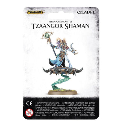 Buy Warhammer - Age of Sigmar - Tzeentch Arcanites - Tzaangor Shaman and more Great Games Workshop Products at 401 Games