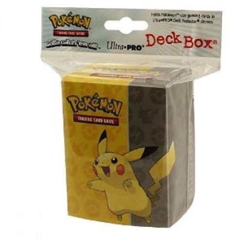 Buy Ultra Pro - Deck Box 80ct - Pokemon - Pikachu and more Great Sleeves & Supplies Products at 401 Games