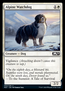 Alpine Watchdog (M21) (Pre-Order: 2020-07-03) - 401 Games