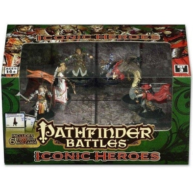 Pathfinder Battles - Iconic Heroes - Set 3 - 401 Games