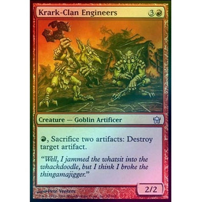 Krark-Clan Engineers (Foil) (5DN) available at 401 Games Canada