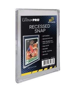Ultra Pro - 2-Piece Card Storage Box - Recessed Snap UV Protection