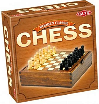 Chess - Handy Wooden Box - Wooden Classic available at 401 Games Canada