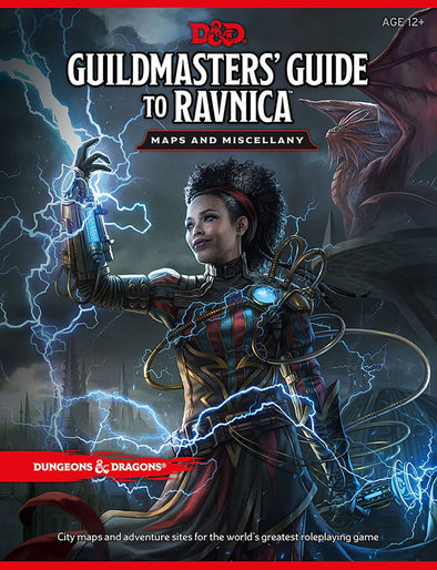 Dungeons & Dragons - 5th Edition - Guildmaster's Guide to Ravnica - Maps and Miscellany - 401 Games
