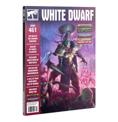White Dwarf - Issue 461 - February 2021 available at 401 Games Canada