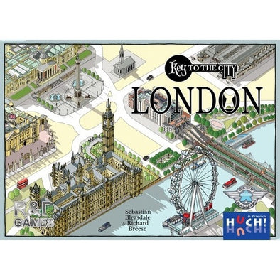 Buy Key to the City - London and more Great Board Games Products at 401 Games