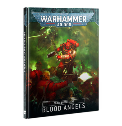 Warhammer 40,000 - Codex Supplement: Blood Angels - 9th Edition available at 401 Games Canada