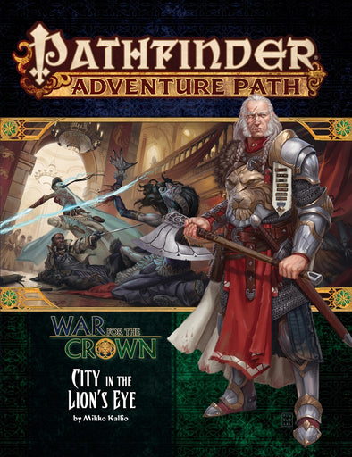 Buy Pathfinder - Adventure Path - #130: City in the Lion's Eye (War for the Crown 4 of 6) and more Great RPG Products at 401 Games