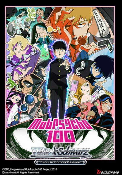 Weiss Schwarz - Mob Psycho 100 Supply Set (Pre-Order December 18th, 2020)) - 401 Games